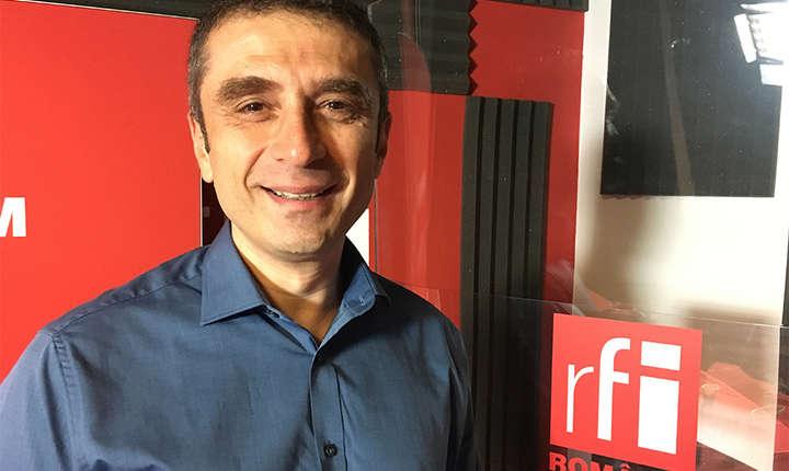 Ionuţ Comşa in studioul RFI Romania