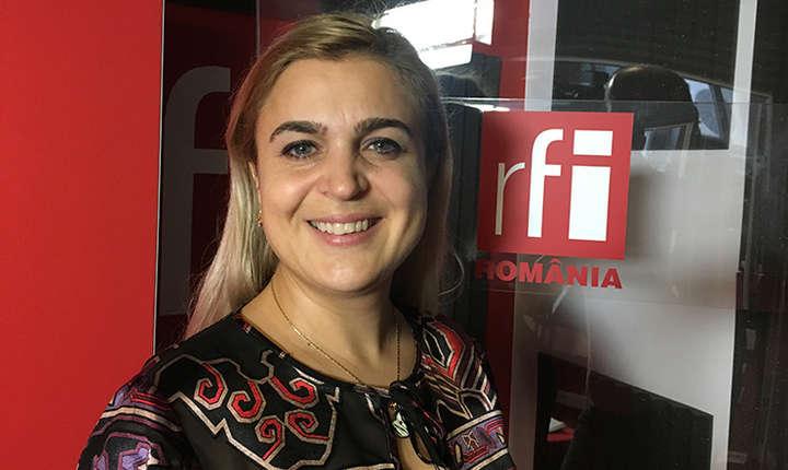 Mădălina Giurescu la RFI