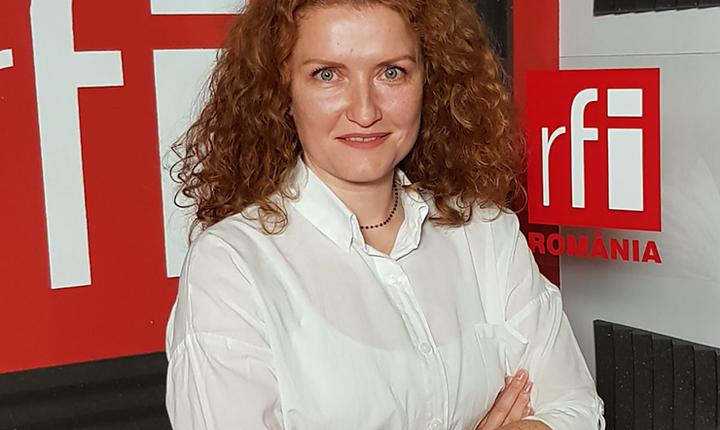 Narcisa Mocanu in studioul RFI Romania