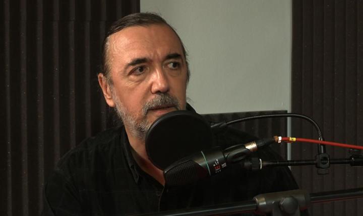 Daniel Bichis in studioul RFI Romania