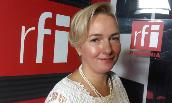 Elena Barbu in studioul RFI