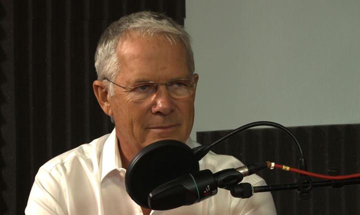 Gérard Collignon in studioul RFI Romania