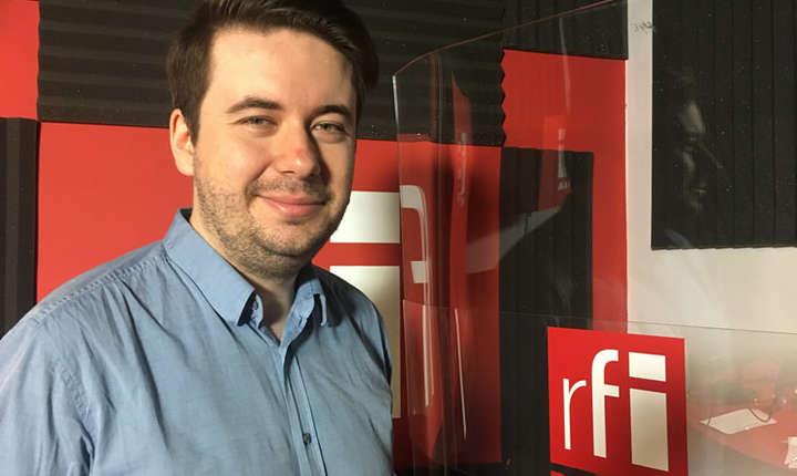 Robert Alexandru Roi in studioul RFI Romania