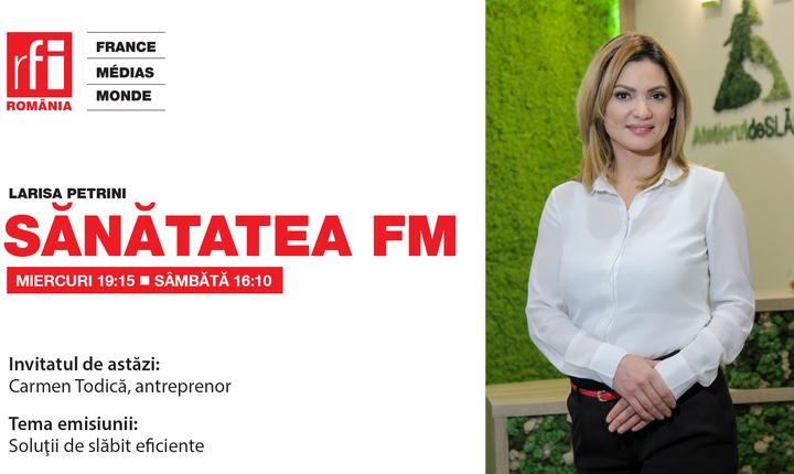 Carmen Todica, fondator Clinica AS, la Sănătatea FM