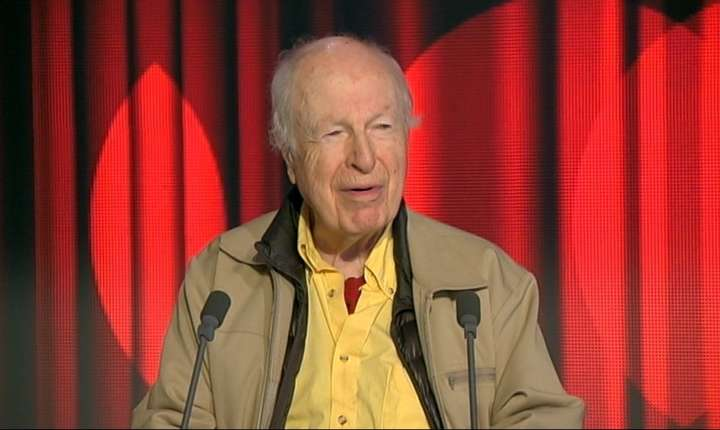 Peter Brook în 2014