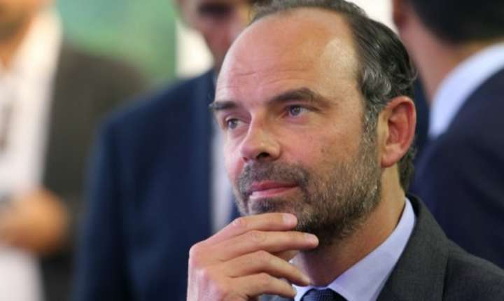 Premierul francez Edouard Philippe