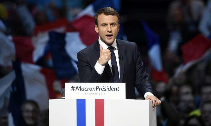 Emmanuel Macron la ora campaniei pentru prezidenţiale