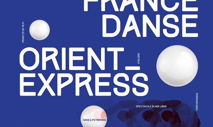 Afiș FranceDance Orient Express