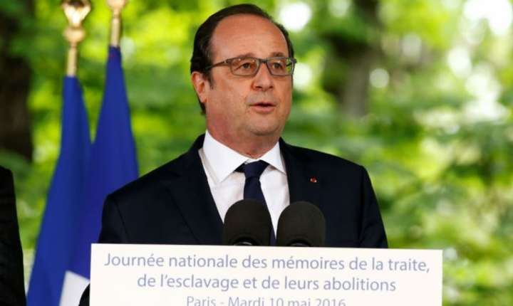 François Hollande a sustinut unul din ultimele discursuri ca presedinte al Frantei, Paris, 10 mai 2017