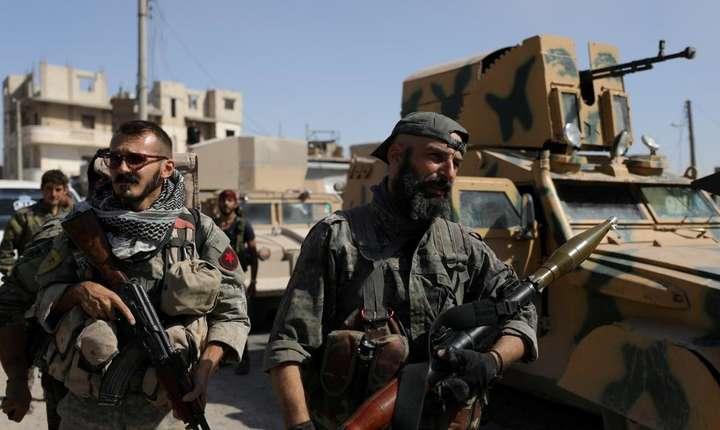 Franta ar fi trimis unitati speciale în sprijinul Fortelor Democratice siriene ( aici o fotografie din octombrie 2017).