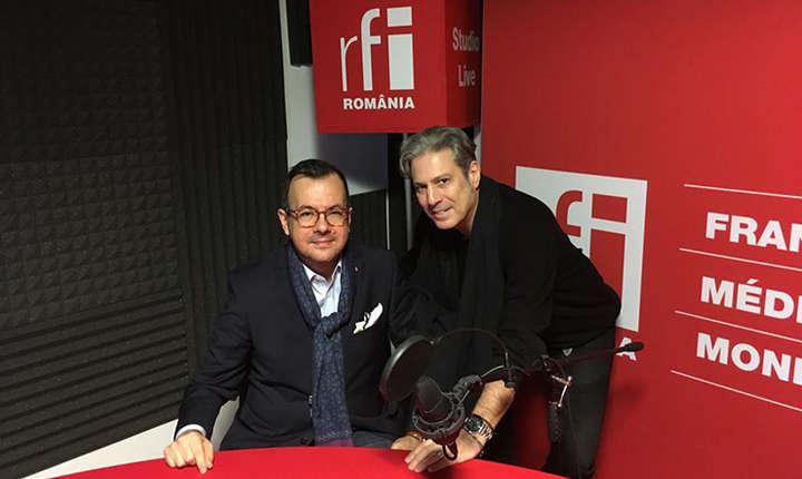 Gabriel Atanasov, ambassadeur de la République de Macédoine et Nicolas Don