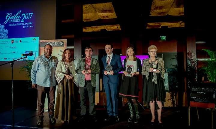 Câștigătorii Galei Premiilor Revistei Cariere 2017