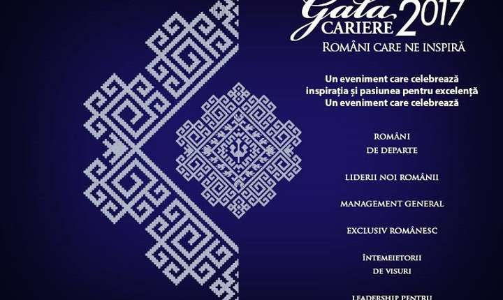 Gala Revistei Cariere 2017