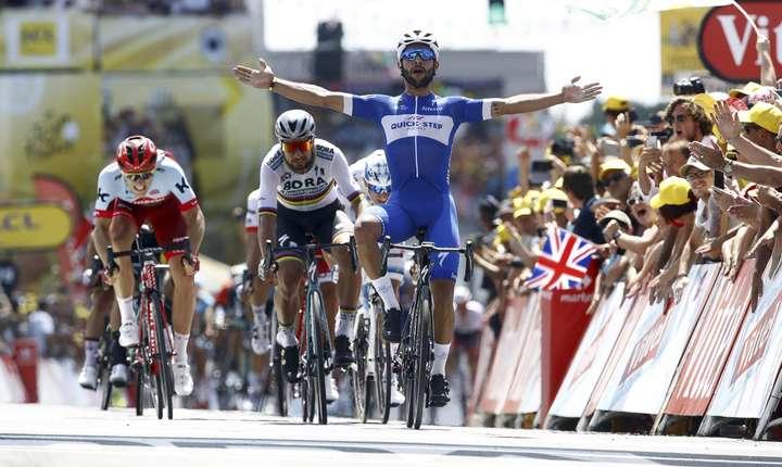 Farnando Gaviria câștigă prima etapă a Turului Franței 2018