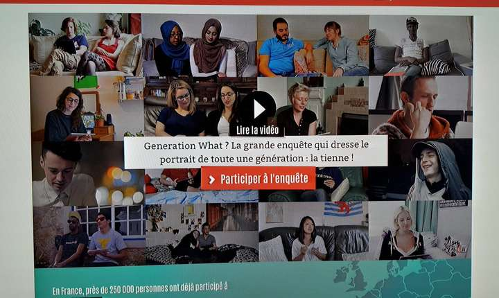 Imagine de pe situl generation-what.fr