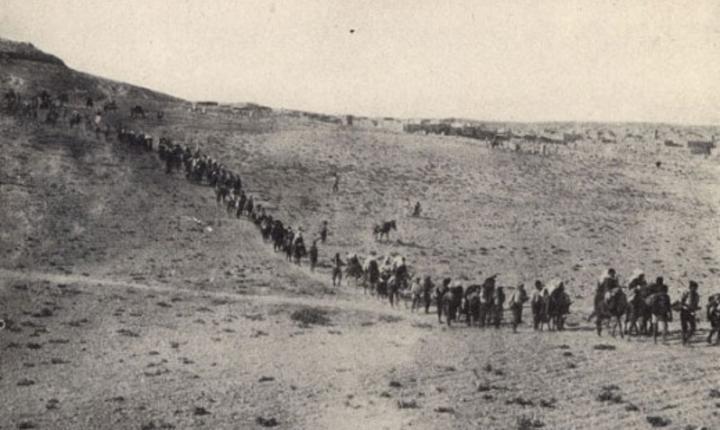 Convoaiele de deportați armeni