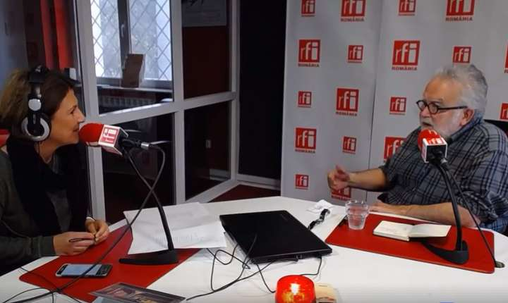 George Banu la RFI în dialog cu Mihaela Dedeoglu, 2017