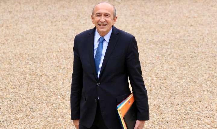 Gérard Collomb, ministrul francez de interne