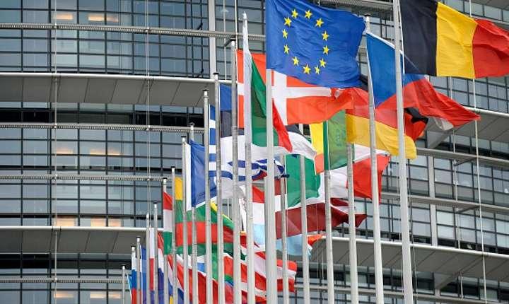 Parlamentul european de la Strasbourg