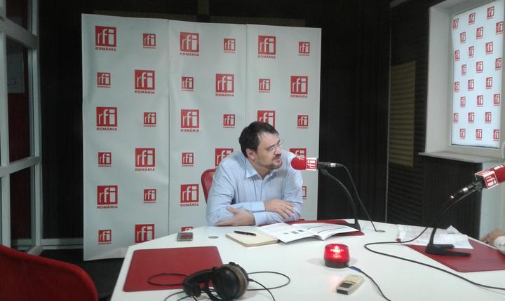 Ministrul Fondurilor Europene, Cristian Ghinea, în studioul RFI