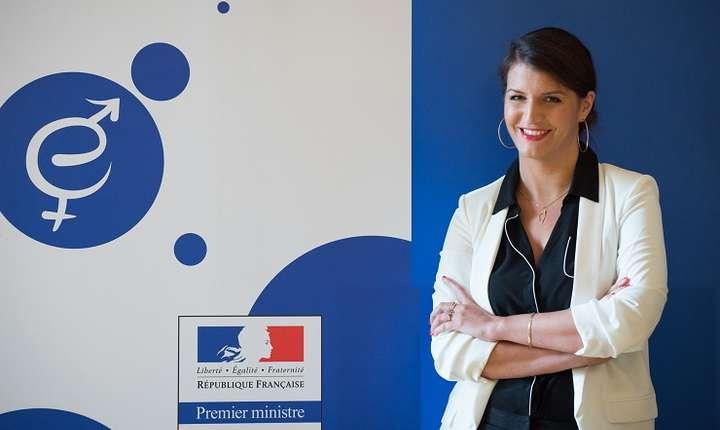 Doamna Marlène Schiappa, secretar de stat pe lângă Prim-ministrul francez