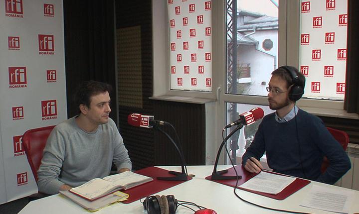 Ionuţ Cepraga, în studioul RFI