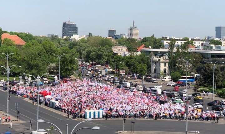 Proteste ale sindicaliştilor din sistemul sanitar (Sursa foto: site SANITAS/arhivă)