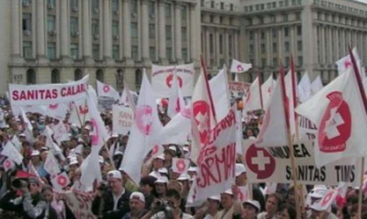 Sistemul sanitar intra in grevă de avertisment pe 7 mai, iar din 11 mai va fi declanșata greva generală