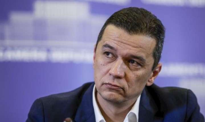 PSD depune motiune impotriva guvernului Grindeanu