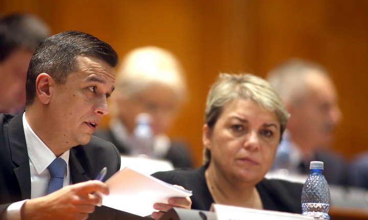 Votul a fost dat în prezenta premierului Sorin Grindeanu.