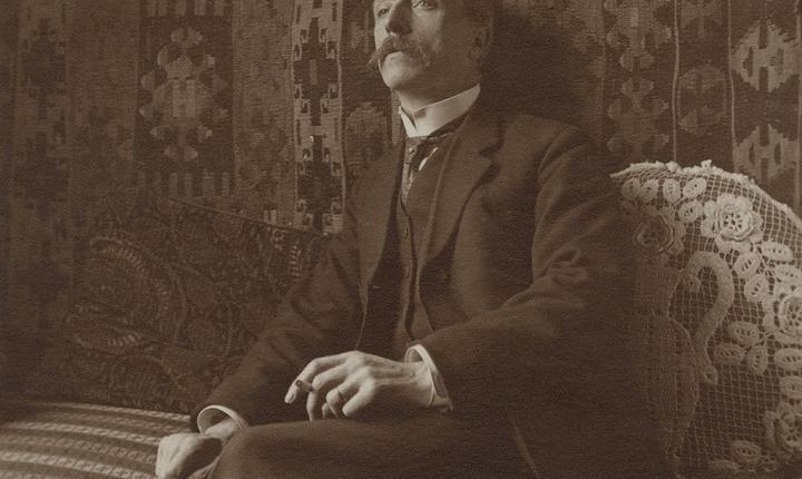 Gustave Marissiaux - Autoportret ~ 1919
