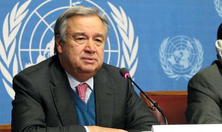 Antonio Guterres, noul secretar-general ONU si-a prezentat doctrina în fata Consiliului de securitate