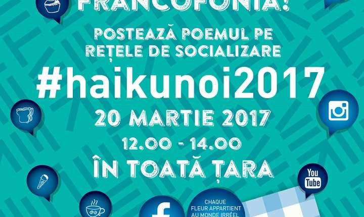 """Campania """"Picnic Poetic – Haikunoi"""", ediția a III-a, București 2017"""