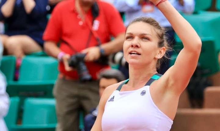 Simona Halep dupà victoria din sferturi împotriva ucrainiencei Elina Svitolina