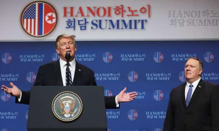 Esec al celui de-al doilea summit intre Donald Trump şi Kim Jong Un