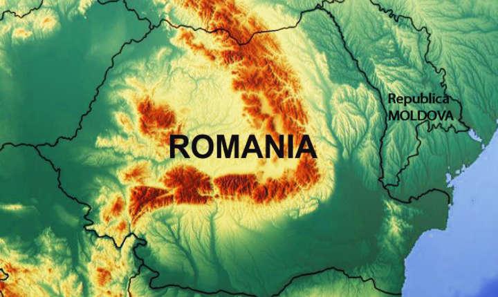 Harta România - R.Moldova