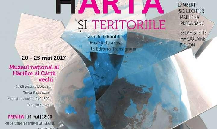 Afiș Proiectul hARTA și TERITORIILE