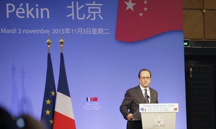 François Hollande, presedintele Frantei, a plecat din China pe o notà destul de optimistà