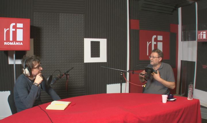 Dan Pârvu în dialog cu poetul Florin Iaru
