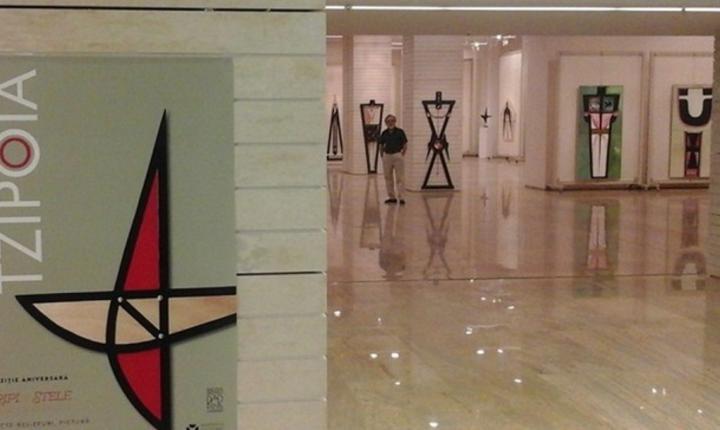 Expoziția aniversară Aripi și Stele, George Tzipoia