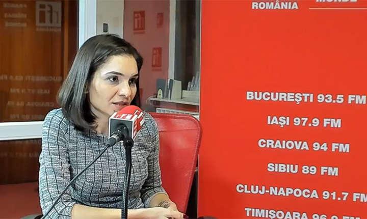 Ileana Guţu la RFI Romania