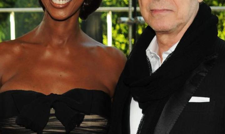 Iman și David Bowie