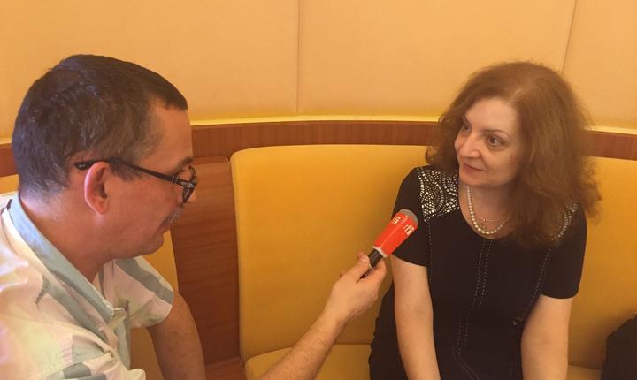 Daniela Gîtman, secretara de stat pentru afaceri globale, împreunà cu Vasile Damian, Antananarivo 25 noiembrie 2016