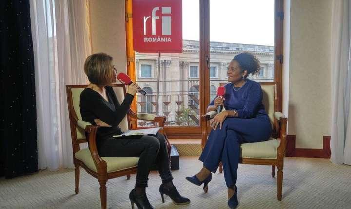 Mihaela Dedeoglu și Michaëlle Jean la Hilton