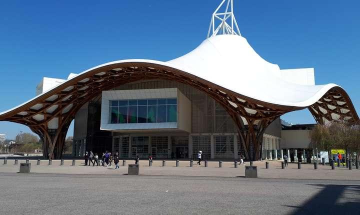 Muzeul Centre Pompidou-Metz a fost inaugurat în mai 2010