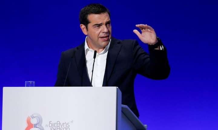 Premierul grec, Alexis Tsipras, aici în septembrie 2018 (Foto: Reuters/Costas Baltas)