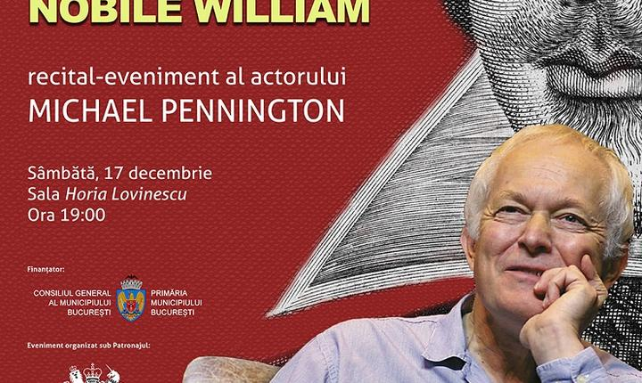 Recital-eveniment al actorului  Michael Pennington