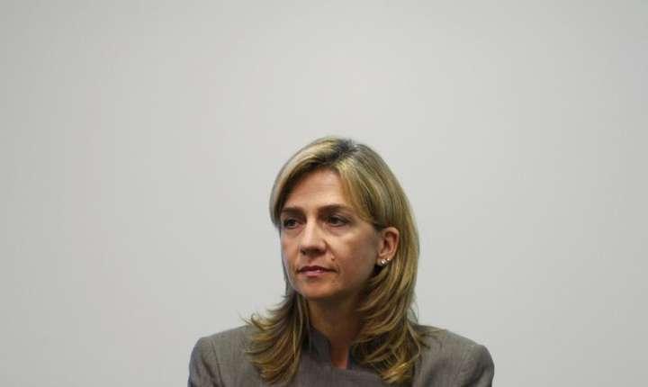 Infanta Spaniei, Cristina de Bourbon, a doua fiica a regelui Juan Carlos I si a reginei Sofia a Spaniei