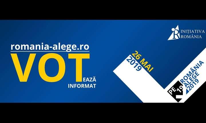Mișcarea civică Inițiativa România a construit CV-urile pentru 75 de candidați eligibili la alegerile europarlamentare de duminică.