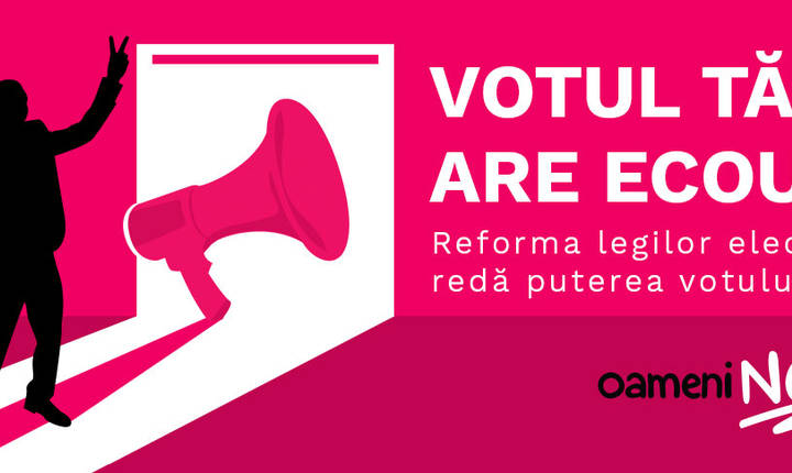 O nouă campanie cetăţenească a fost lansată marţi, 11 septembrie 2018 (Sursa foto: oameni-noi.ro)